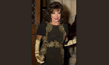 Joan Collins: Δεν πάει ο νους σας γιατί φοράει συνέχεια γάντια