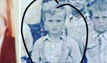 Αναγνωρίζετε το αγοράκι της φωτογραφίας;