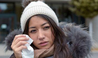 Ξηροφθαλμία τον χειμώνα: 8 συμβουλές για να την αντιμετωπίσετε