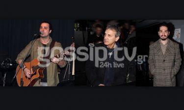 Ο Γιώργος Νταλάρας στην παρουσίαση του album του Παντελή Κυραμαργιού