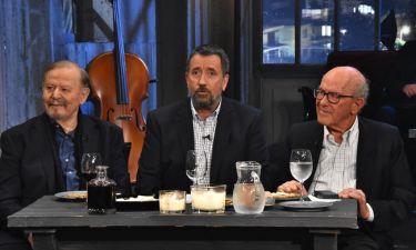 «Στην υγειά μας ρε παιδιά»: Ο Σπύρος Παπαδόπουλος υποδέχεται τον Γιάννη Σπανό