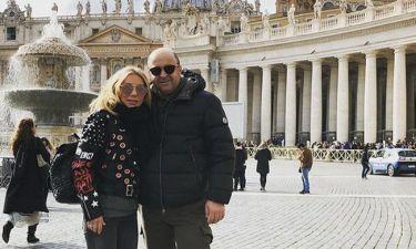 Σεφερλής-Τσαβαλιά: Ταξίδι στην Ρώμη για τα γενέθλιά της