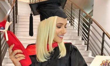 Λάουρα Νάργιες: Η αποφοίτηση και το συγκινητικό μήνυμά της στο instagram