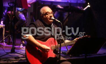 Ο Γιώργος Μουκίδης on stage!