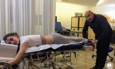 Σοφίνα Λαζαράκη: Έπαθε λουμπάγκο από σήκωμα βαλίτσας
