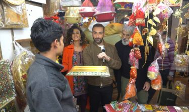 Celebrity Travel: Η Δωροθέα Μερκούρη και ο Μάνος Πίντζης στο Νέο Δελχί