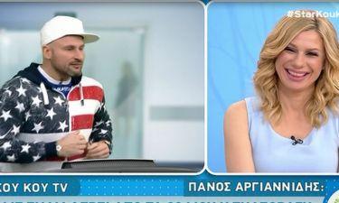 Πάνος Αργιανίδης: «Εννοείται πως βοηθάει που Βαλαβάνη και Βασάλος είναι ζευγάρι, γιατί…»