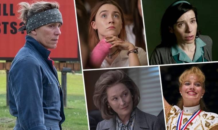 Όσκαρ 2018: Το Βραβείο Α' Γυναικείου Ρόλου πάει στην...