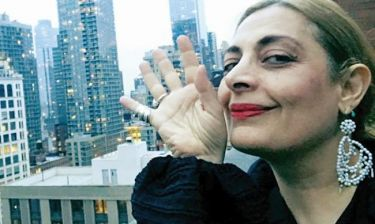 Η Αλέξια επέστρεψε στη Νέα Υόρκη