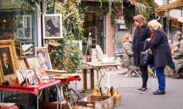 Ανακάλυψε τις πιο γραφικές υπαίθριες αγορές του Παρισιού