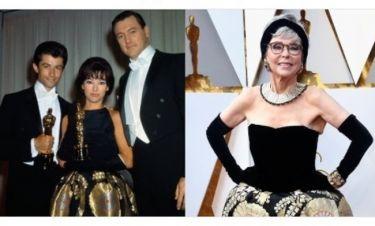 Όσκαρ 2018: Στο κόκκινο χαλί με το ίδιο φόρεμα που φόρεσε το 1962