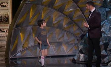 Oscars 2018: Ο Jimmy Kimmel και ο… 9χρονος εαυτός του