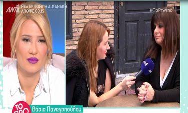 Βάσια Παναγοπούλου: Τι αποκάλυψε on camera για τον χωρισμό της;