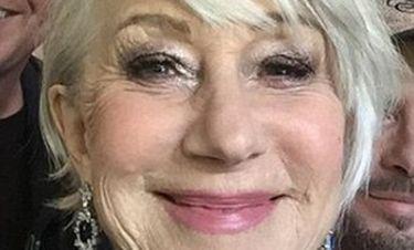 Helen Mirren: Έτσι είναι άβαφη στα 72 της χρόνια