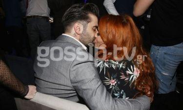 Χρηστίδου-Μαραντίνης: Το «καυτό» φιλί μπροστά στον φωτογράφο