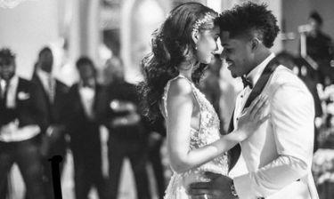 Chanel Iman- Sterling Shepard: Παραμυθένιος γάμος στο Beverly Hills