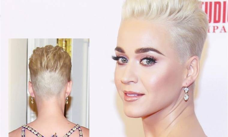 Katy Perry: Ξύρισε το κεφάλι της!