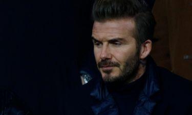 Γιατί ο φακός εστίασε σε αυτό το βλέμμα του David Beckham;