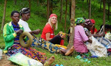 Χριστίνα Κοντοβά: Εθελόντρια στην Ρουάντα για την Action Aid