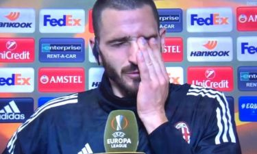 Μίλαν: Δάκρυσε ο Μπονούτσι για Αστόρι! «Δεν μπόρεσα να του πω αντίο» (video)