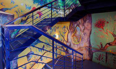 Όταν η street art φέρνει ελπίδες στην Κιβωτό του Κόσμου