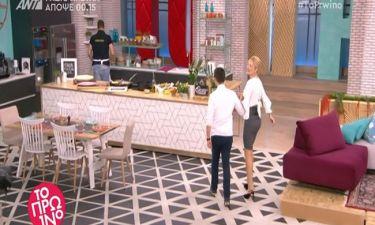 Το πρωινό: Η Σκορδά έψαχνε να βρει τον... συνεργάτη της και δε φαντάζεστε τι ακούστηκε on air!