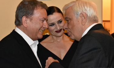 Ο Πρόεδρος της Δημοκρατίας στην παράσταση «Ο Γκάτσος που αγάπησα»