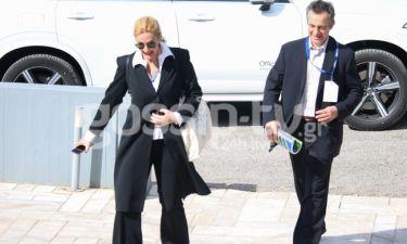 Μαρία Νικόλτσιου: Σπάνια δημόσια εμφάνιση με τον σύζυγό της