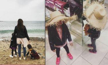 Σταματίνα Τσιμτσιλή: Έτσι πέρασε το Σαββατοκύριακο με τις κόρες της!