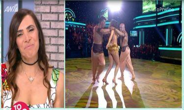Μάγκυ Χαραλαμπίδου: Η πικρία της που αποχώρησε από το Dancing with the stars!