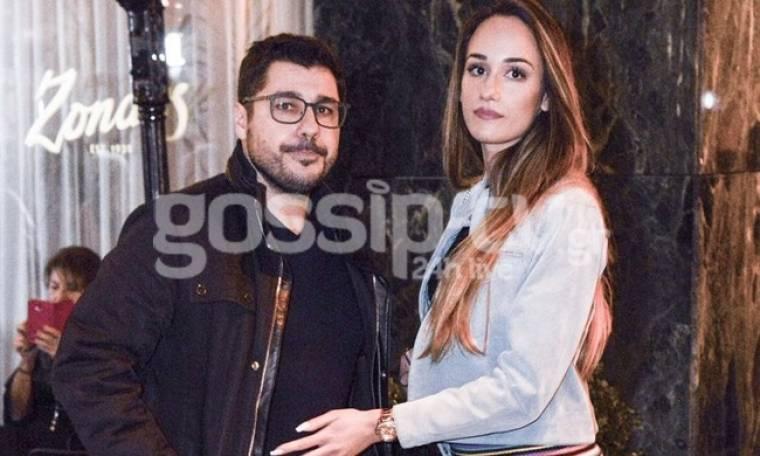 Λάμπρος Κωνσταντάρας: Νυχτερινή έξοδος με την σύντροφο του Έλενα Κώνστα