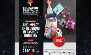 ΕDUCATION FESTIVAL 2018: 4 δημοφιλείς fashion bloggers στο σεμινάριο Επικοινωνίας & ΜΜΕ του ΙΕΚ ΑΛΦΑ