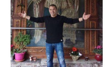 Μιχάλης Ζαμπίδης: Στην Μυτιλήνη για προσκύνημα στον Ταξιάρχη
