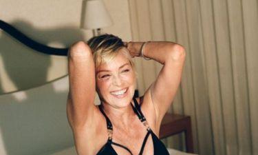 Respect στη Sharon Stone: Στα 60 της ποζάρει εντελώς άβαφη (pics)