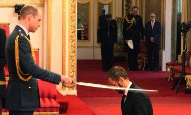 Ο Ουίλιαμ έχρισε ιππότη τον Ρίνγκο Σταρ