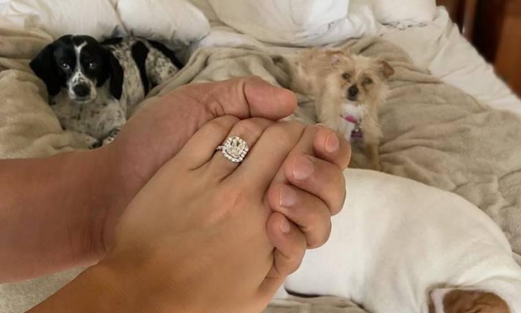 Δεν πρόλαβε να πάρει διαζύγιο και ανακοίνωσε τον αρραβώνα της στο Instagram