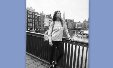 Ελένη Χατζίδου: Ταξίδι στο Άμστερνταμ