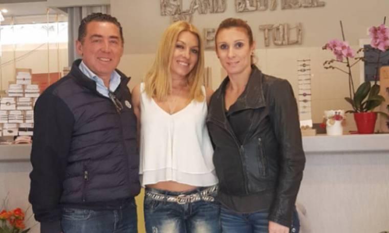 Θάνου-Τζέκος: Επισκέφθηκαν την Έλσα Τόλη στο Λουτράκι