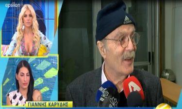 Ντίνος Καρύδης: «Θα ήθελα να είμαι καλά και να μη με βοηθά η Σμαράγδα οικονομικά»