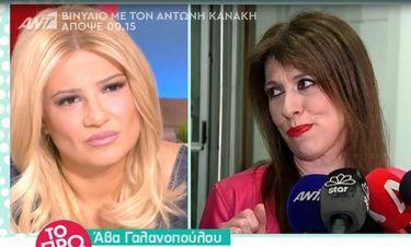 Άβα Γαλανοπούλου:«Η δουλειά του ηθοποιού στην Ελλάδα είναι «ποινικό αδίκημα»»