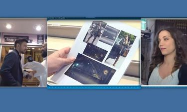 Τσιμιτσέλης-Γερονικολού: Οι πρώτες αντιδράσεις τους on camera μετά τις πρώτες κοινές φωτο