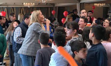 Αμαρυλλίς: Τραγούδησε για τα παιδιά με ειδικές ανάγκες- Το συγκινητικό της post