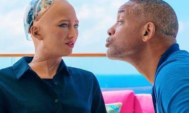 Γουίλ Σμιθ: ζει την απόρριψη στο online dating από το ρομπότ Σοφία