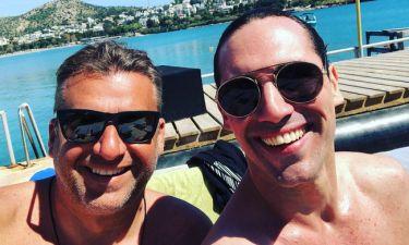 Γιώργος Λιάγκας- Άνθιμος Ανανιάδης: Συνάντηση στη θάλασσα