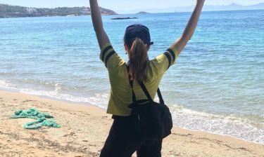 Δέσποινα Βανδή: Χάρηκε τον ήλιο και τη θάλασσα