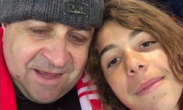 Μάρκος Σεφερλής: Ταξίδι στην Αγγλία με τον γιο του για να δει την Liverpool