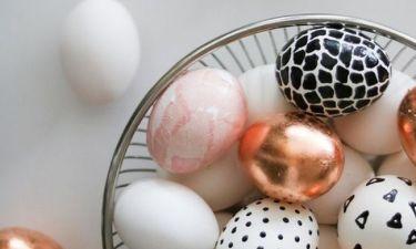 Πασχαλινά αβγά: Πώς να τα βάψεις απόψε