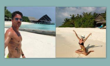 Οικονομόπουλος – Αραβανή: Οι διακοπές στις Μαλδίβες και οι φωτογραφίες με μαγιό στο Instagram