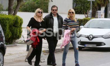 Κωνσταντίνα Σπυροπούλου: Πρωινή βόλτα με τους γονείς της