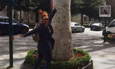 Άντα Λιβιτσάνου: Το ταξίδι στη Ρώμη και το μήνυμα στο Instagram